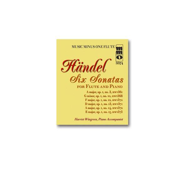 Six Sonatas for Flute and Piano: No. 1 in A major/No. 2 in G minor/No. 3 in F major/No. 4 in D major/No. 5 in A major/No. 6 in E