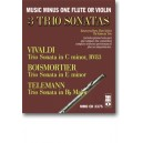 3 Trio Sonatas: VIVALDI C minor, RV83: BOISMORTIER E minor: TELEMANN B-flat