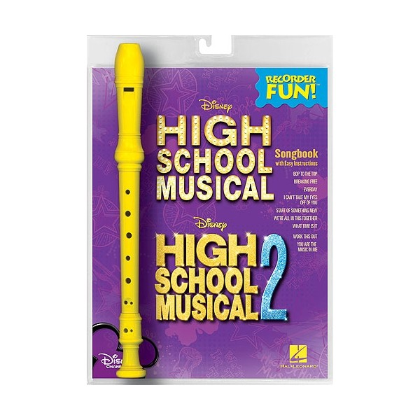 Recorder Fun! High School Musical 1 And 2