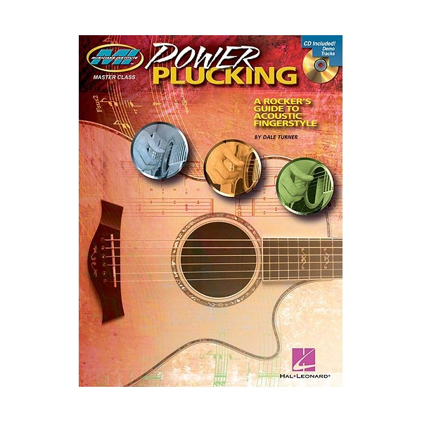 Power Plucking: A Rockers Guide to Acoustic Fingerstyle Guitar (Book And CD)