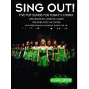 Sing Out! 5 Pop Songs For Todays Choirs - Book 1 (Book/Audio Download) - De-Lisser, Mark (Arranger)