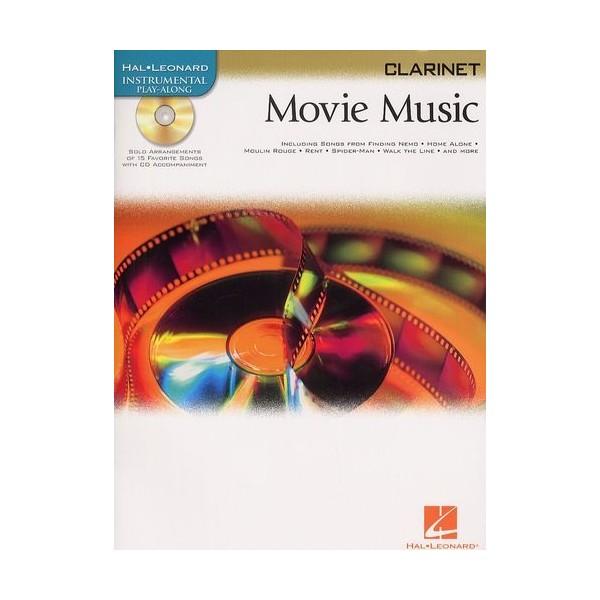 Hal Leonard Instrumental Play-Along: Movie Music (Clarinet)