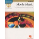 Hal Leonard Instrumental Play-Along: Movie Music (Violin)