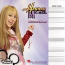 Hannah Montana: Music Manuscript Paper - Wide Staff