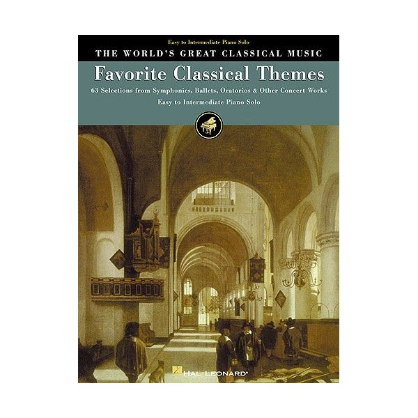 The Worlds Great Classical Music: Favorite Classical Themes -  Easy/Intermediate Piano