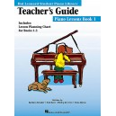 Hal Leonard Student Piano Library: Piano Lessons Book 1 (Teachers Guide)