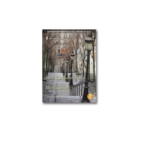 CASTELNUOVO-TEDESCO Sonatina for Guitar & Flute: GIULIANI Serenata for Guitar & Flute, op. 127 (2 CD set)