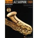 Hal Leonard Saxophone Method: Jazz Saxophone - Tenor
