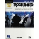 Hal Leonard Instrumental Play-Along: Rock Band (Alto Saxophone)