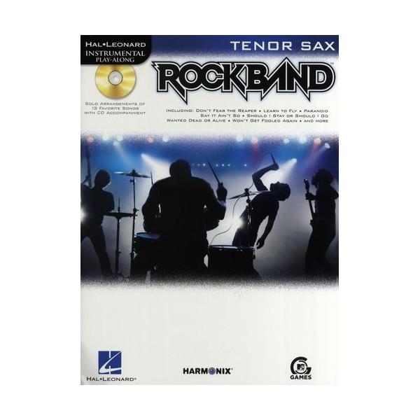 Hal Leonard Instrumental Play-Along: Rock Band (Tenor Saxophone)