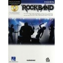 Hal Leonard Instrumental Play-Along: Rock Band (Horn)