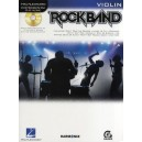Hal Leonard Instrumental Play-Along: Rock Band (Violin)