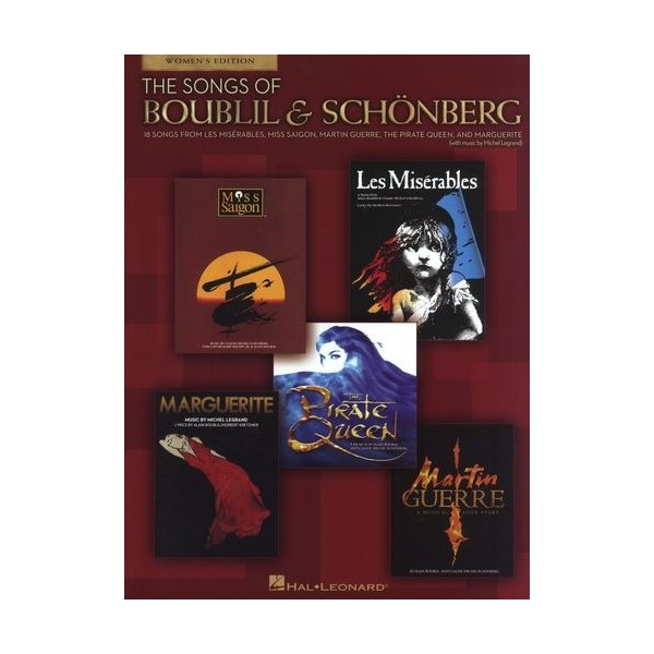 The Songs Of Boublil & Schonberg - 18 Songs For Women