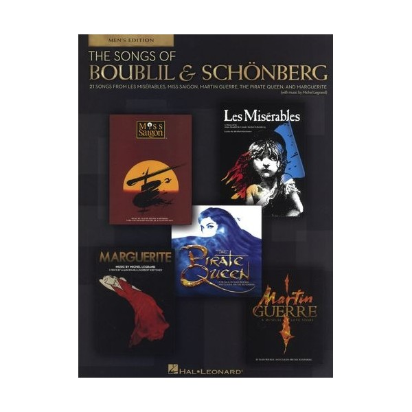 The Songs Of Boublil & Schönberg - 21 Songs For Men