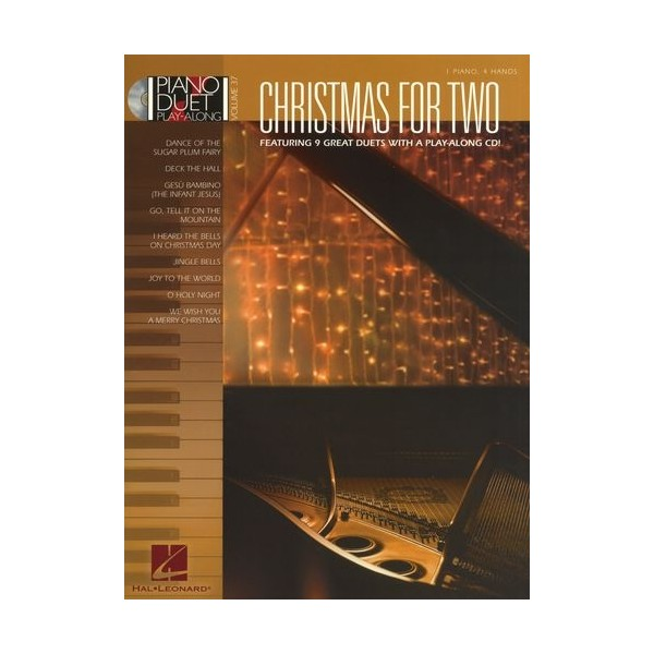 Piano Duet Play-Along Volume 37: Christmas For Two