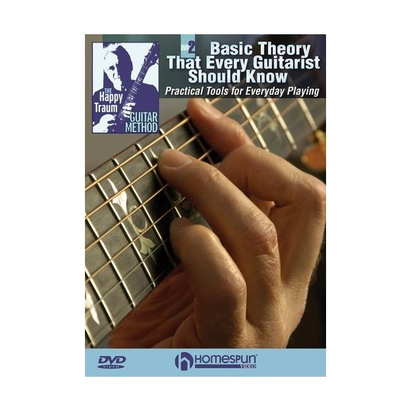 Happy Traum: Basic Theory That Every Guitarist Should Know - DVD 2