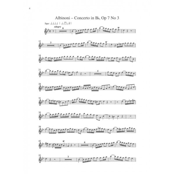 Albinoni - Oboe Concerti B flat, op. 7 no. 3: D major, op. 7, no. 6: D minor, op. 9, no. 2 - Music Minus One
