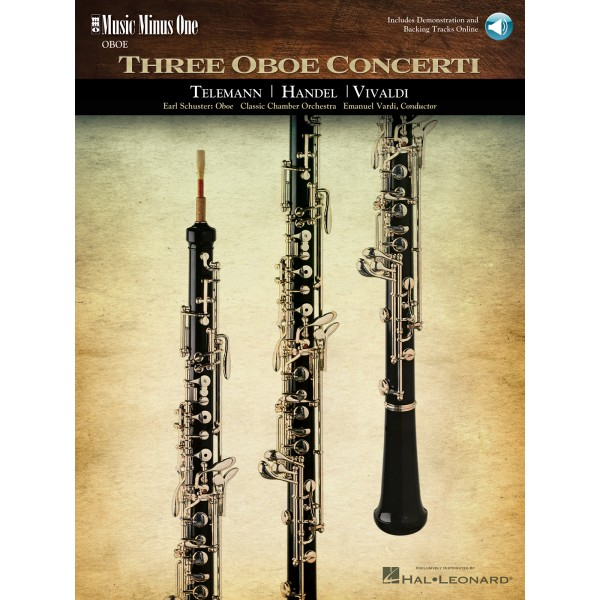 Oboe Concerti: TELEMANN F minor: HANDEL No. 8 in B-flat major: VIVALDI D minor, RV454(236) (online audio)