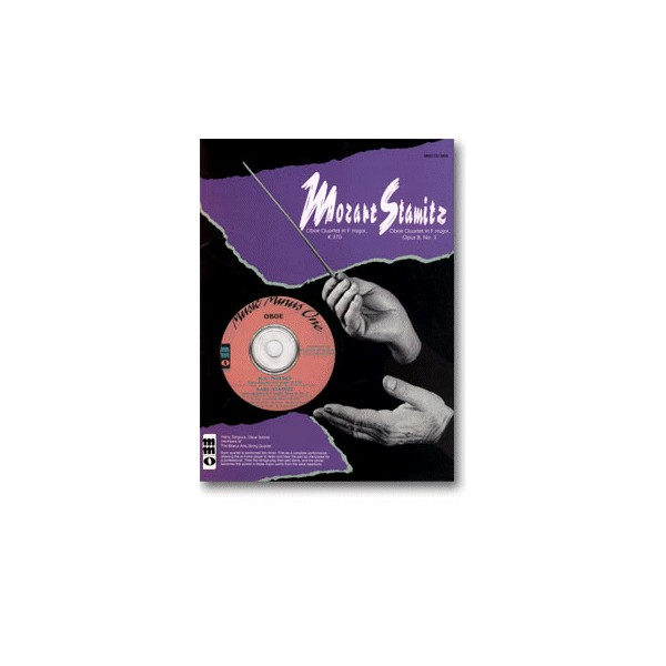 MOZART Quartet in F major, KV370 (KV368b): STAMITZ Quartet in F major, op. 8, no. 3 (New Digitally Remastered 2 CD set)