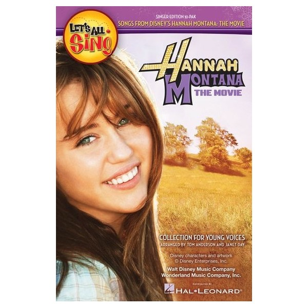 Lets All Sing Songs From Disneys Hannah Montana: The Movie - Singer 10 Pak