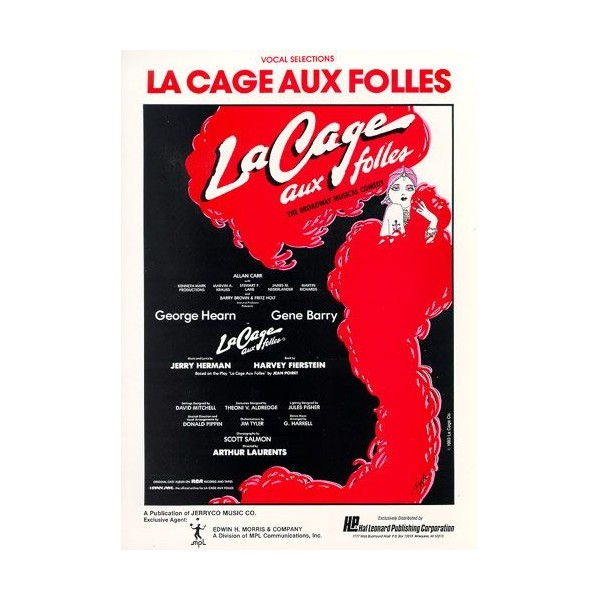 La Cage Aux Folles Vocal Selections