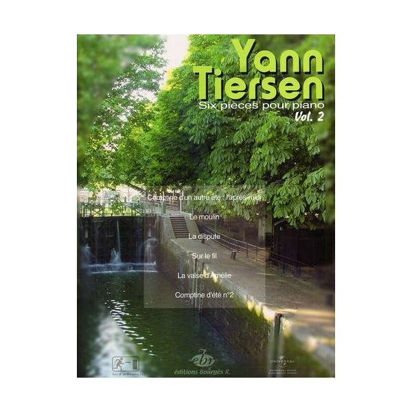 Tiersen, Yann  -  Six Pieces Pour Piano - Volume 2
