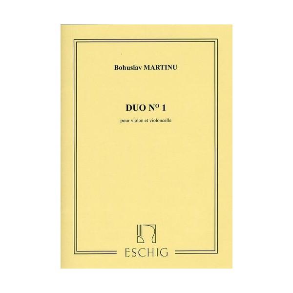 Martinu, Bohuslav  -  Duo No.1
