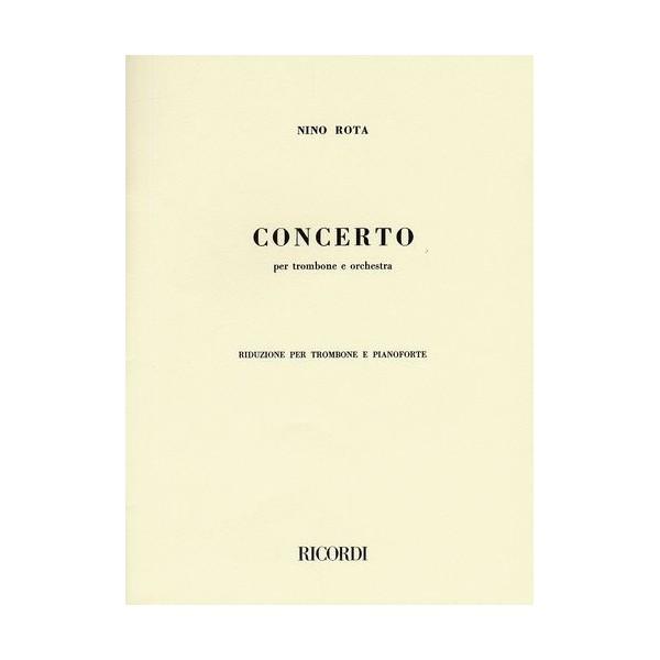 Rota, Nino  -  Concerto Per Trombone E Orchestra (Trombone and Piano)