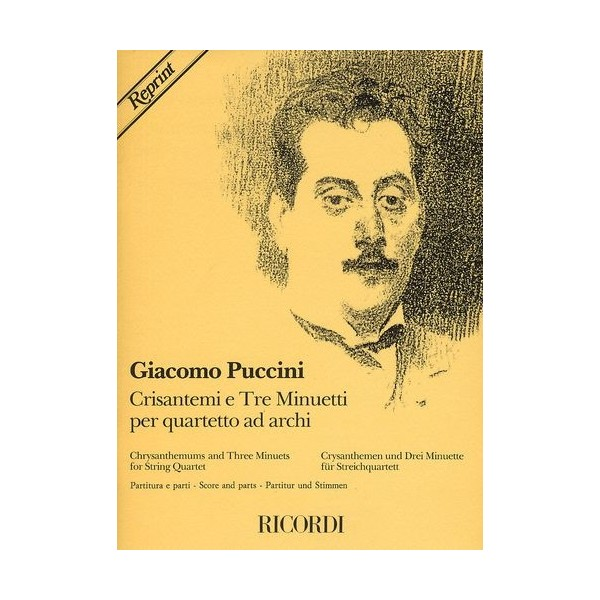 Puccini, Giacomo  -  Chrysanthemums And Three Minuets