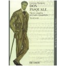 Donizetti, Gaetano - Don Pasquale - Opera Vocal Score
