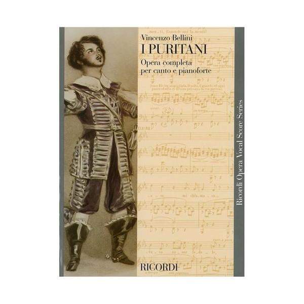 Bellini, Vincenzo  -  I Puritani - Opera Vocal Score