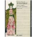 Puccini, Giacomo - Turandot (Vocal Score)