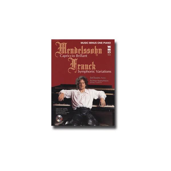 MENDELSSOHN Capriccio Brilliant: FRANCK Variations Symphoniques (Symphonic Variations) for Piano & Orchestra, M46