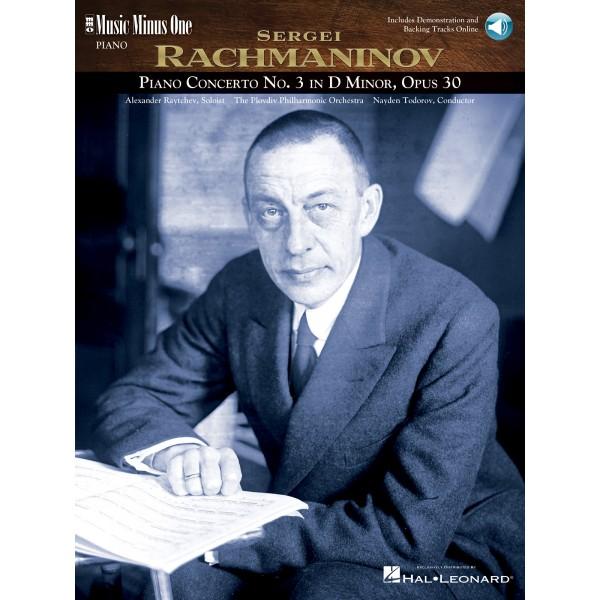 Rachmaninov - Piano Concerto No. 3 in D minor, op.30 - Music Minus One