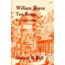 Boyce, William - Ten Songs for High Voice