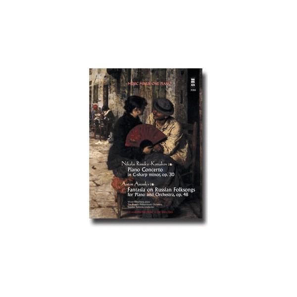 RIMSKY-KORSAKOV Concerto in C-sharp minor, op. 30: ARENSKY Fantasia on Russian Folksongs, op. 48 (2 CD set)