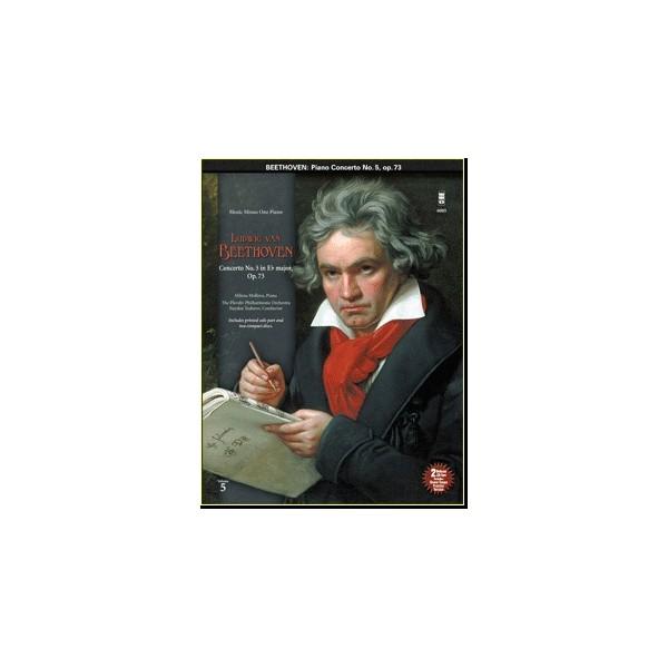 Concerto No. 5 in E-flat major, op. 73 (New Digital Recording - 2 CD set)