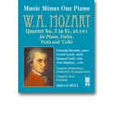 Mozart - Piano Quartet No. 2 in E-flat major, KV493 - Music Minus One