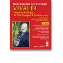 Vivaldi - Concerto for Two Trumpets - Music Minus One - Play Along Edition