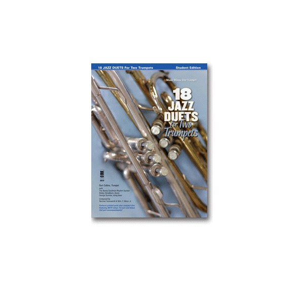 Trumpet Duets in Jazz - 18 Duets (Burt Collins)