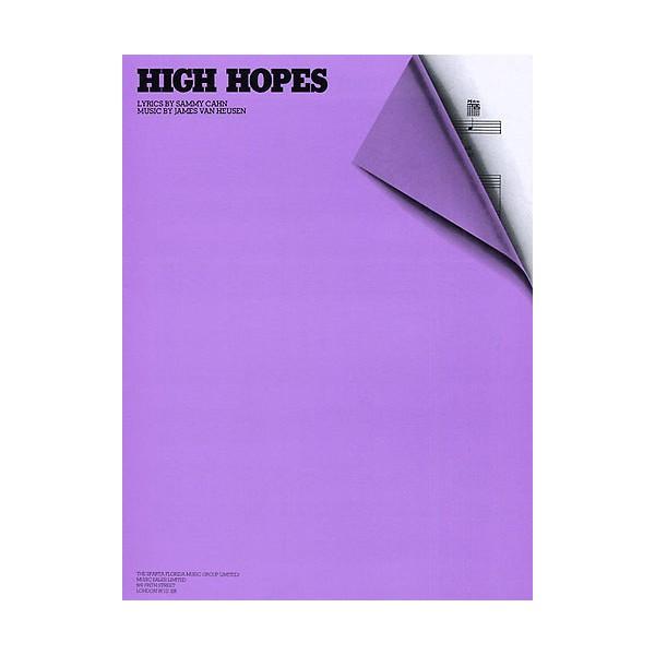 James Van Heusen: High Hopes (PVG)