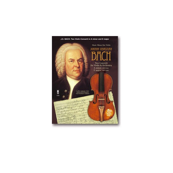 Violin Concerto No. 1 in A minor, BWV1041: Violin Concerto No. 2 in E major, BWV1042 (Digitally Remastered 2 CD set)