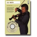 Bach J.S. - Violin Concerto in D minor (from Concerto No. 1 for Harpsichord, BWV1052) - Music Minus One