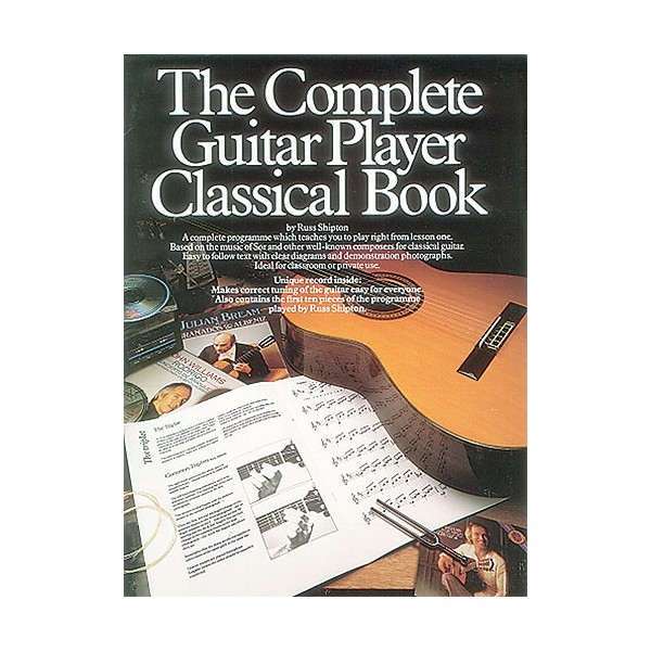 The Complete Guitar Player - Classical Book (Book And CD)