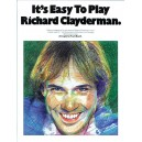 Its Easy To Play Richard Clayderman Book 1