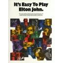 Its Easy To Play Elton John