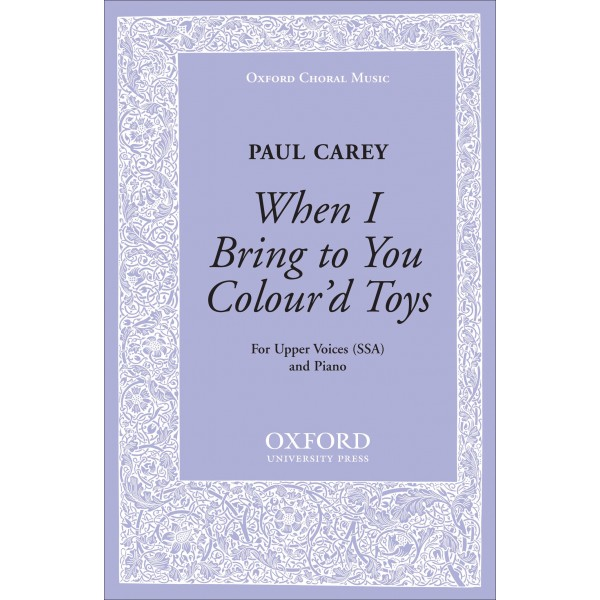 When I bring to you colourd toys - Carey, Paul