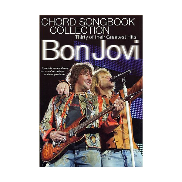 Bon Jovi Chord Songbook Collection