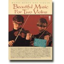 Beautiful Music for Two Violins, vol. I: 1st position - Music Minus One