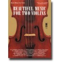 Beautiful Music for Two Violins, vol. IV: 1st, 2nd, 3rd position - Music Minus One